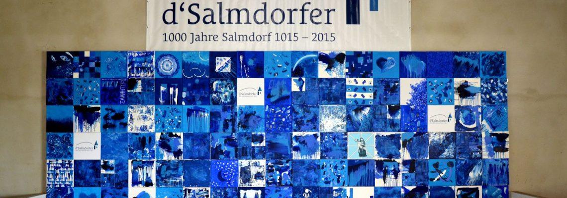 Bühnenbild 1000 Jahre Salmdorf