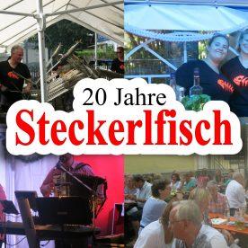 20 jähriges Steckerlfischessen am 29.07.2016