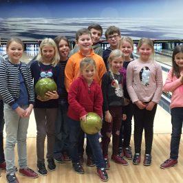 Bowlingausflug für Kinder am 22.01.2017