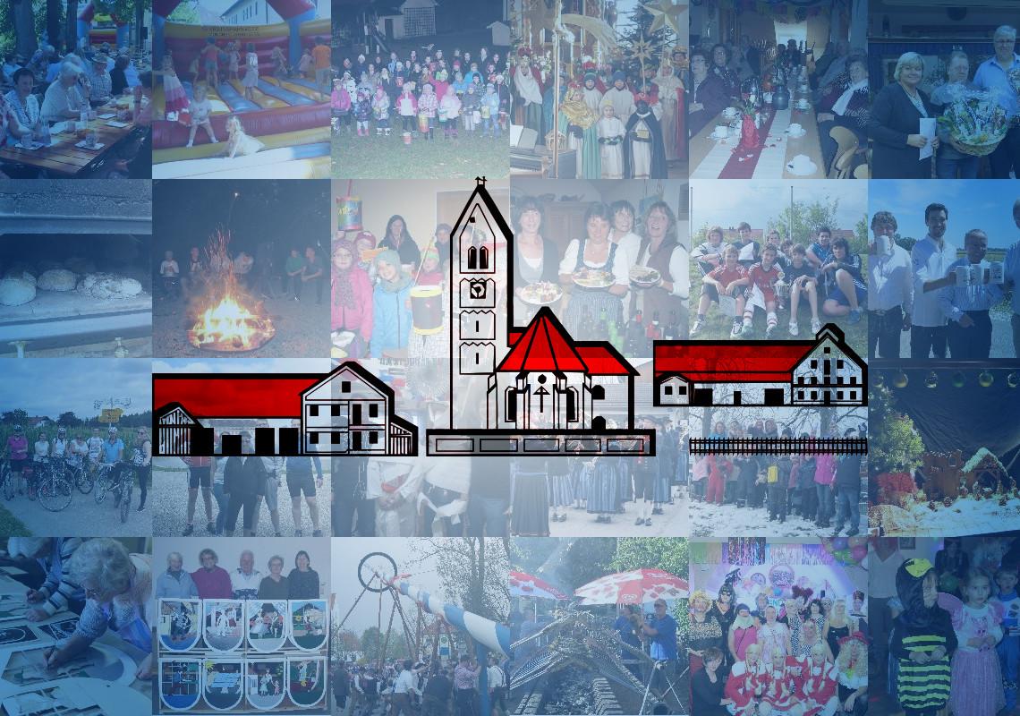 Banner mit Mosaik aus Fotos von verschiedenen Veranstaltungen der BVO und dem Logo der BVO im Vordergrund