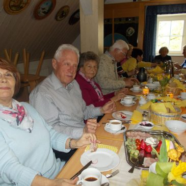 Osterbrunch beim Seniorentreff am 13.04.2017