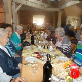 Törggelen beim Seniorentreff am 12.10.2017