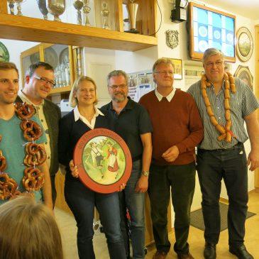 Triumph für die BVO beim Ausschießen der Schützenscheibe am 10.11.2017