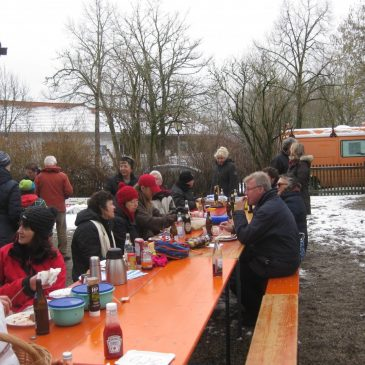 Wintergrillen am 18.01.2015